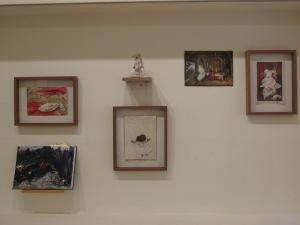 רננה לאוב, ילדה יקרה, מראה הצבה בתערוכה.  צילום: קרן חקק