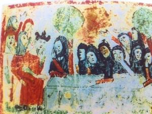 האבל על מות יעקב, הגדה ספרדית, המאה ה-14