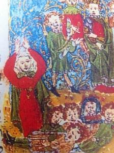האם ובניה, ספר המכלול של המבורג, אזור הריינוס התיכון, 1434