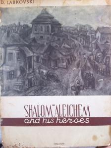 העיירה היהודית, אלבום שלום עליכם וגיבוריו של דוד לבקובסקי