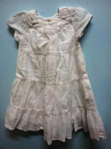 שמלה לבנה יעל עוגן