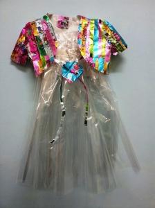 שמלת צלופן
